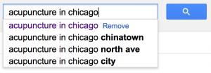 SEO for acupuncture in Chicago