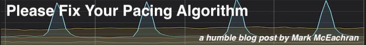 Banner Ad: Please Fix Your Pacing Algorithm